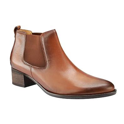 f82fc141b3bc63 Gabor Fashion 35.690.22 Damen Stiefel Stiefelette (Chelsea Boots) mit  Blockabsatz Leder