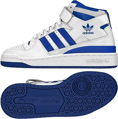 Adidas Forum Mid J, Zapatillas de Deporte Unisex niño, Blanco ...