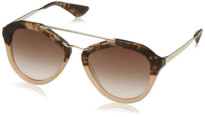 Prada 0PR12QS ROZ0A6 54 Gafas de sol, Marrón (Brown/Brown ...