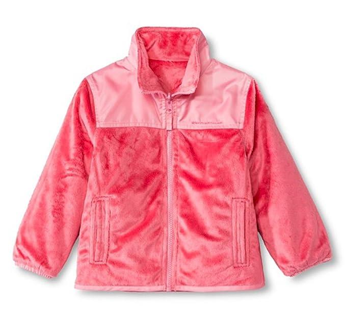 1f4efba4c Amazon.com  Weather Tamer Toddler Little Girls Reversible Fleece ...