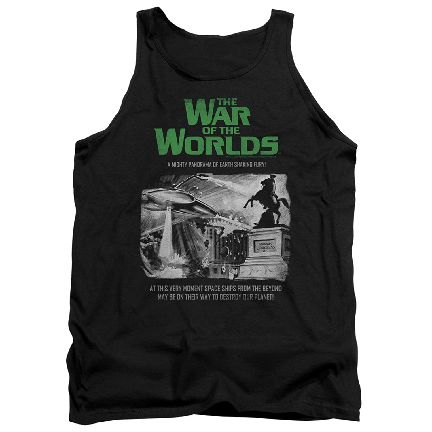 War Of The Worlds - Mens Attack People Poster Tank Top