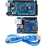 XCSOURCE ATmega2560-16AU ATMEGA16U2 Board + Ethernet Shield W5100 Network Expansion TE168