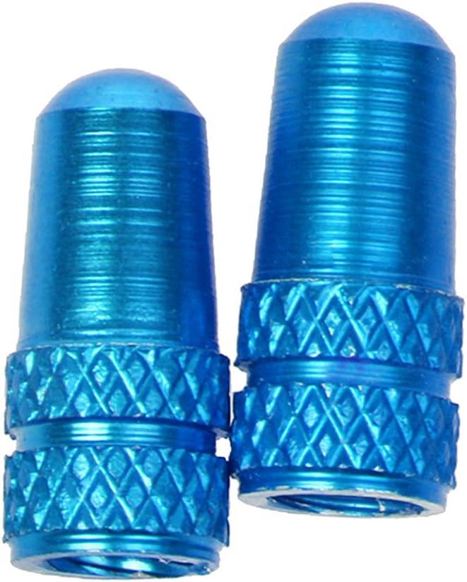 Ventilkappen; bunte deckt Ventil Staubschutz aus robustem Aluminiumlegierung K/örper spielfreiem f/ür Mountainbikes