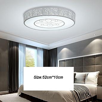 Entzuckend Mode Runde LED Modern Minimalist Gemütliche Deckenleuchte Wohnzimmer  Schlafzimmer Den Deckenleuchte Elegant ( Farbe : 1