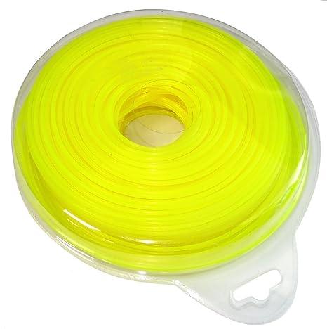 AERZETIX: Hilo de nylon perfil redondo 2.4mm 87m para ...