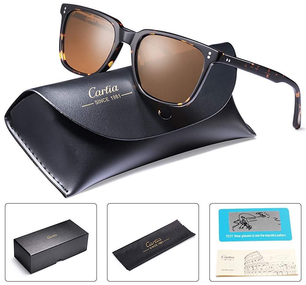 Carfia Polarizadas Gafas de Sol Hombre Mujer UV400 Protección Acetato Marco  Conducción Glasses product image d691ae46d0c5