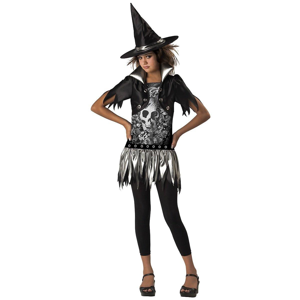 In Character Kost-me 180948 Gothic Witch Kost-m Schwarz Tween Tween - 8-10
