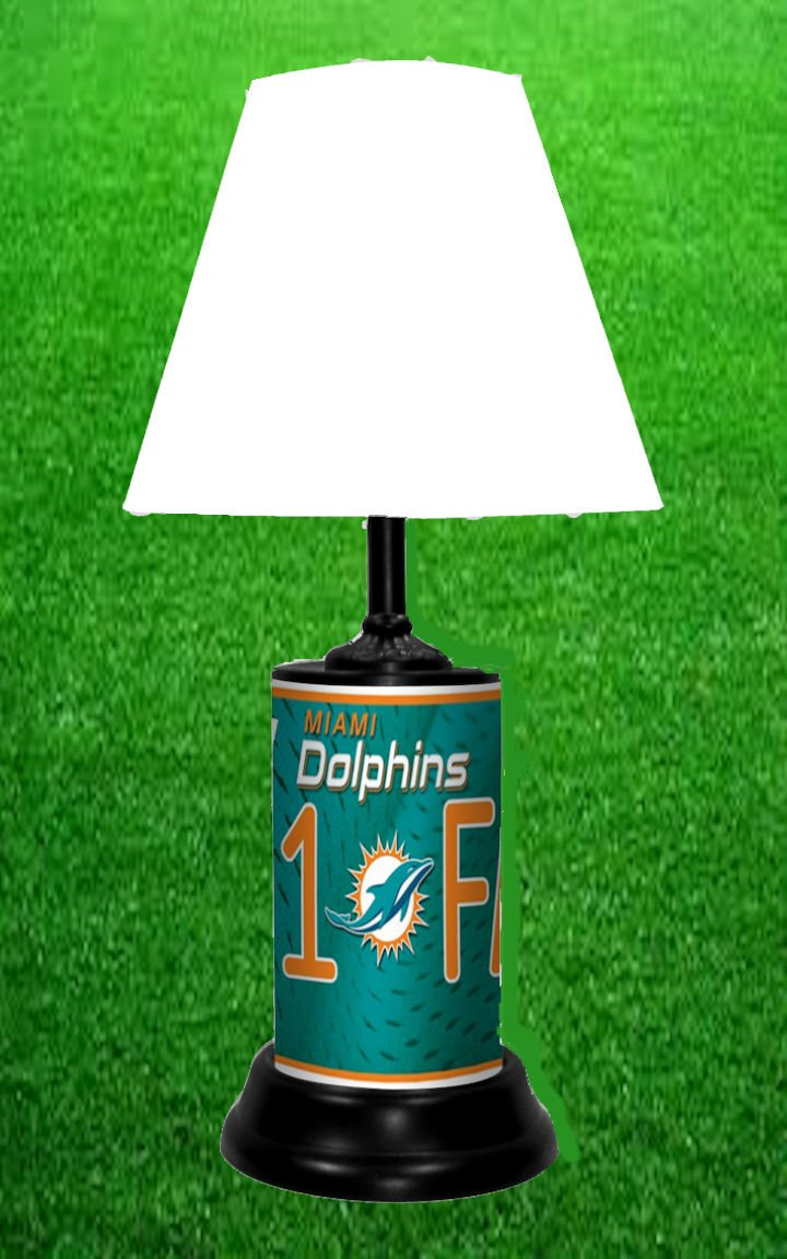 MIAMI DOLPHINS TABLE LAMP