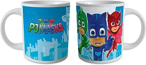 Eli PJ Masks Tasse en Forme de pyjamasques dans Un Coffret Cadeau
