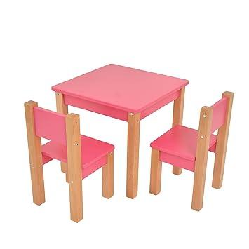 Bilira Kids Kindertisch Modern Zwei Stuhle Spieltisch Tischset