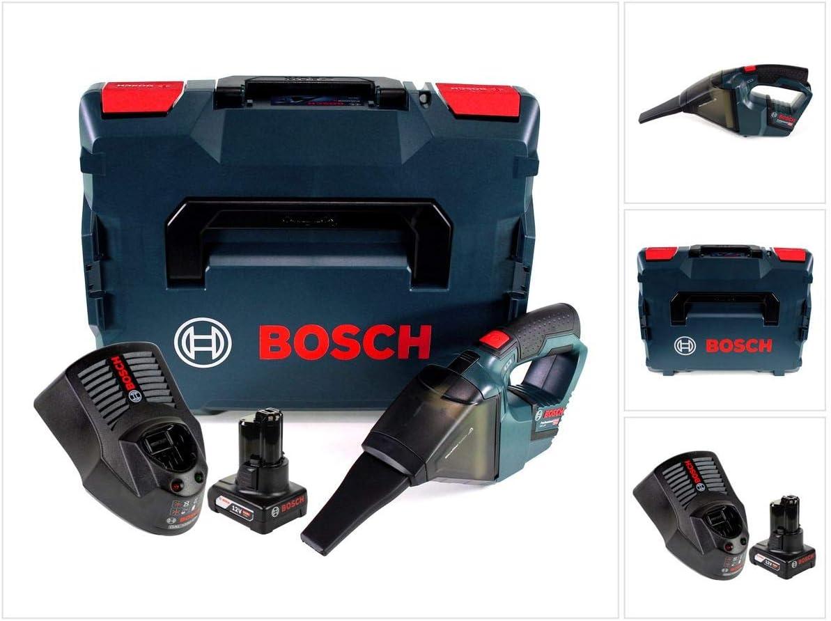 Bosch Gas 12 V PROFESSIONAL batería Aspiradora solo en L-Boxx + 1 x GBA 12 V 6 Ah Batería + 1 x Gal 1230 Cargador: Amazon.es: Bricolaje y herramientas