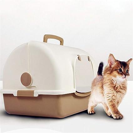 Gran Capacidad para Mascotas Gato Caja de la litera con Capucha ...