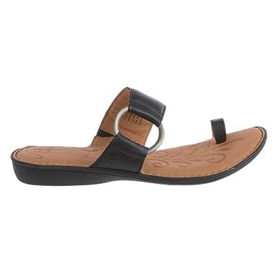 1c45cbd9a1064 Amazon.com   Born Sigge Womens BLACK Leather Sandals (Size: 8, Black)    Sandals