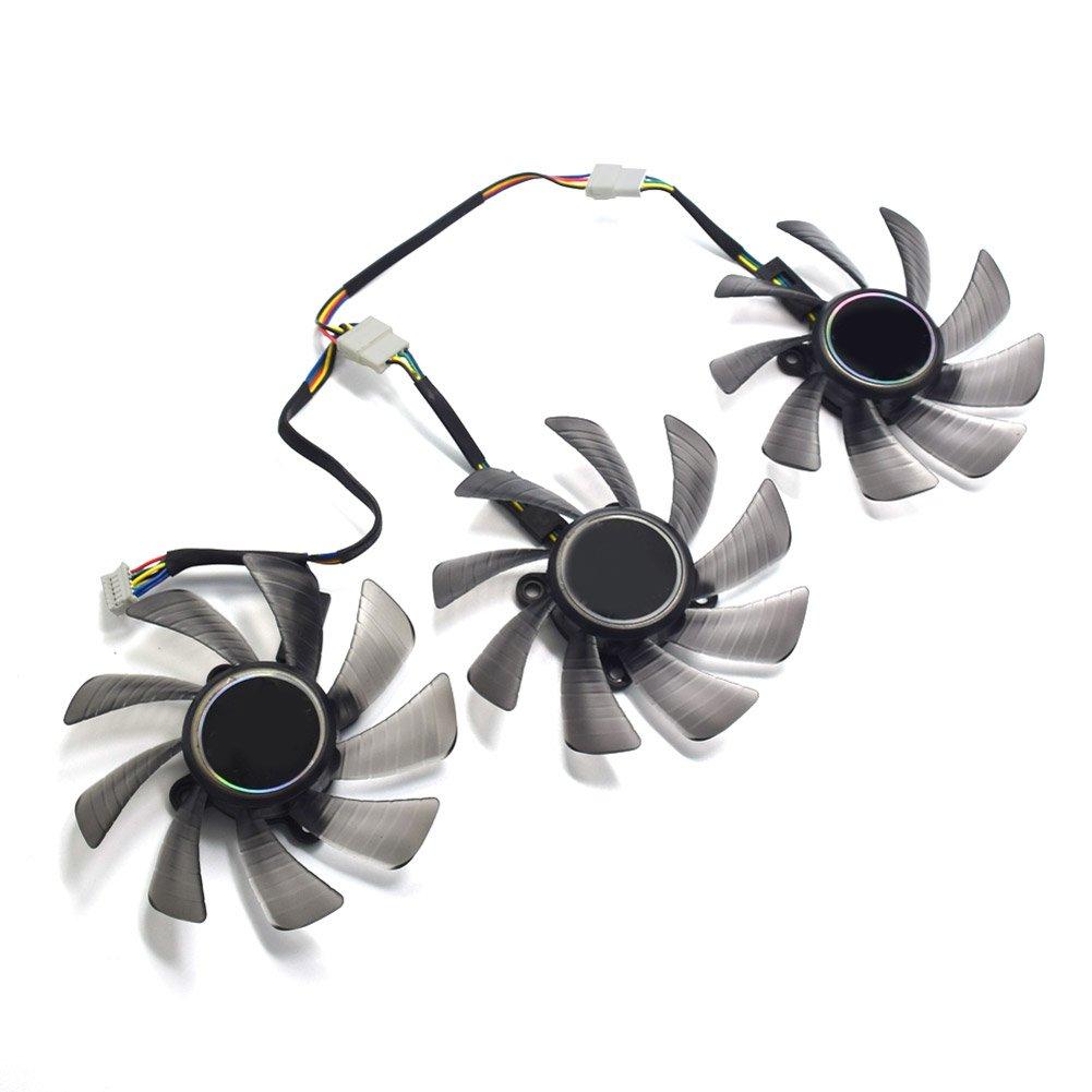 85MM T129215SU GTX 1060 1070 1080 RX470 RX 470 480 580 R9 390 GTX980Ti Fan For ASUS STRIX Raptor Fan by Z.N.Z (Image #5)