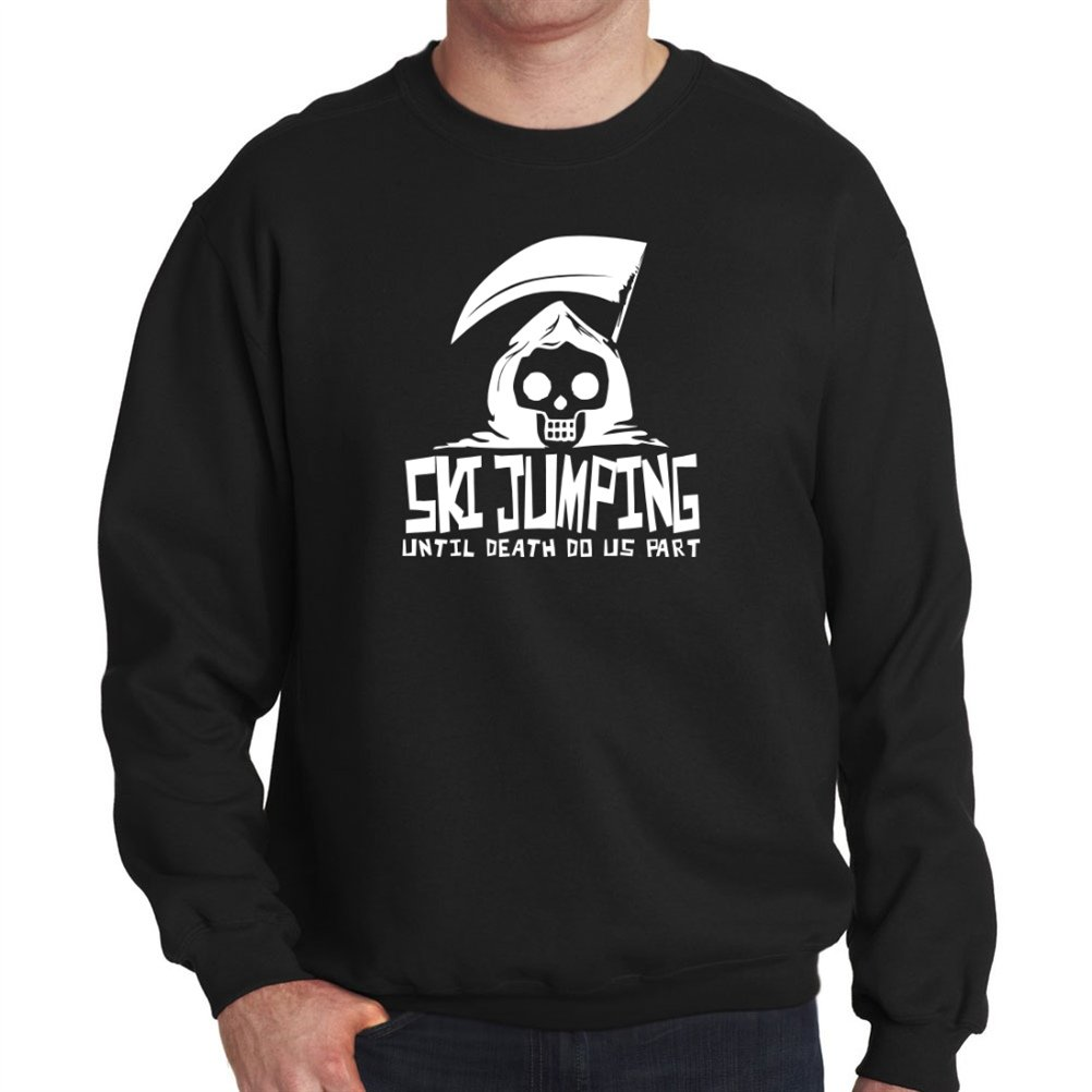 Ski Jumping UNTIL DEATH SEPARATE US Sweatshirt