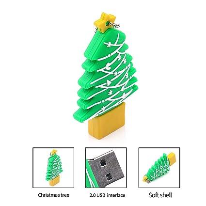 Amazon com: Misszhang-US Creative Christmas Tree USB Flash