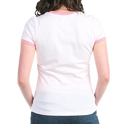 6467cdd90 Amazon.com: CafePress - Reading is Sexy T-Shirt - Jr. Ringer T-Shirt, Slim  Fit 100% Cotton Ringed Shirt Pink/Salmon: Clothing