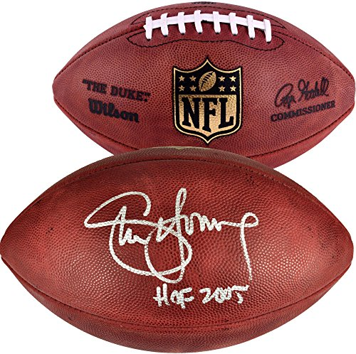 (Steve Young San Francisco 49ers Autographed Wilson Pro Football with HOF 2005 Inscription - Fanatics Authentic Certified)