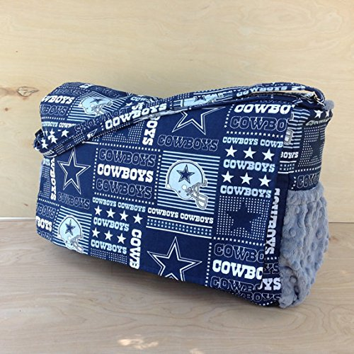 Cowboy Diaper - Diaper Bag- Cowboys Style #2/ Grey