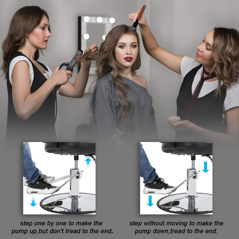Amazon.com: Silla de peluquería de peluquería de alta ...