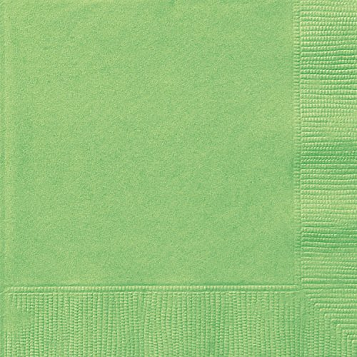 Lime Green Paper Napkins, 20ct]()