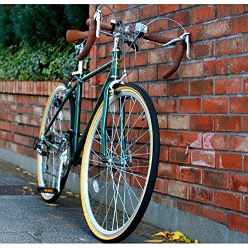 ロードバイク 700c(約28インチ)/アイビーグリーン(緑) シマノ21段変速 重さ/14.4kg 【Raychell】 レイチェル RD-7021R B07D1DBPM3