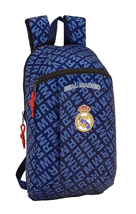 safta Mini Mochila Real Madrid Navy Blue 22x39x10 641902821