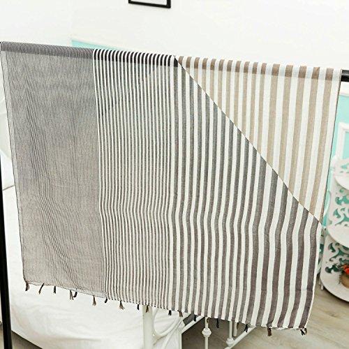 Stripe Soft Scarves 180cm Long YAN 100 Shawl Lady's Wraps Sciarpa wE0Yx60q