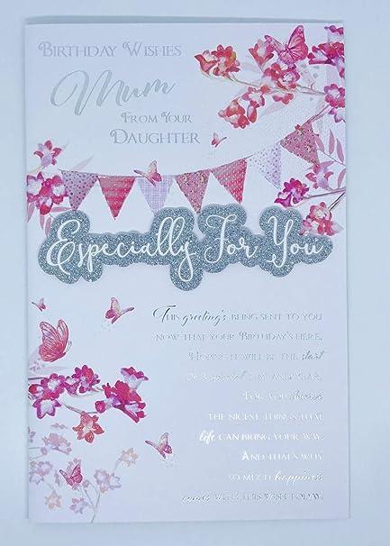 Tarjeta de felicitación de cumpleaños para madre de tu hija ...