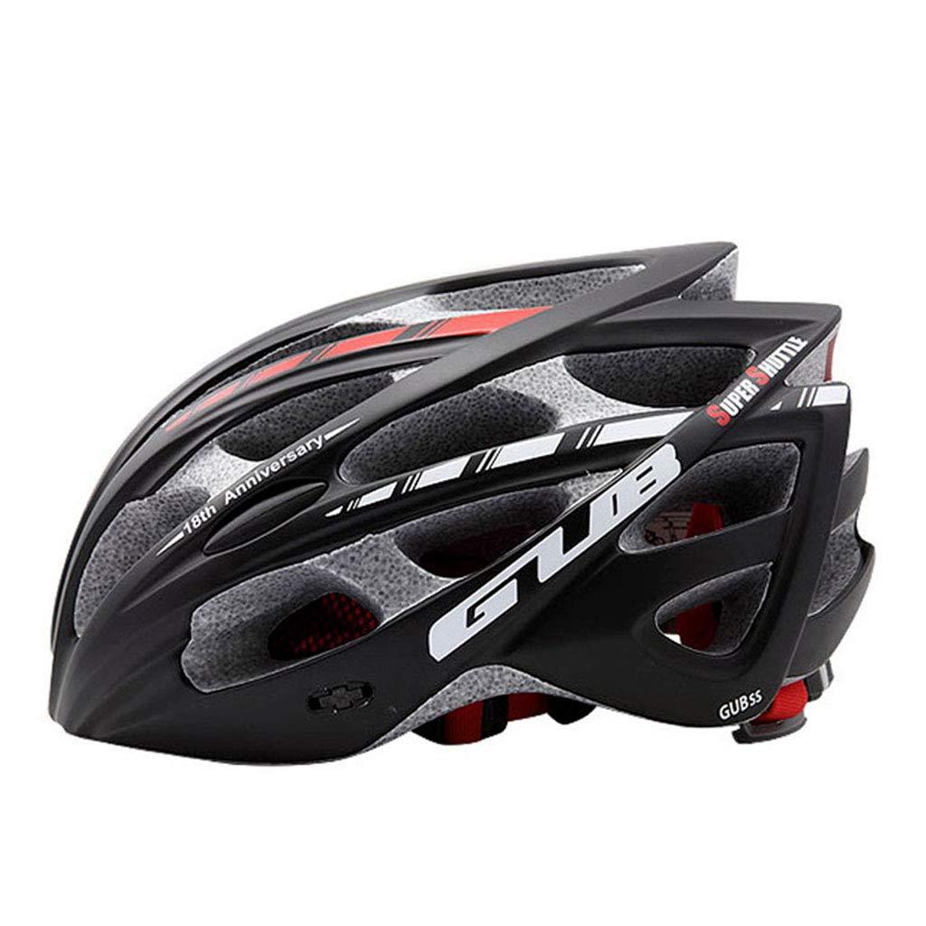 ヘルメット ヘルメット - マウンテンアダルト自転車軽量男性と女性の乗馬機器のヘルメット (色 : A, サイズ さいず : L l) B07HT2YC4Y  A L l