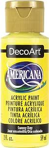 Deco Art Americana Acrylic Paint, 2 oz, Sunny Day