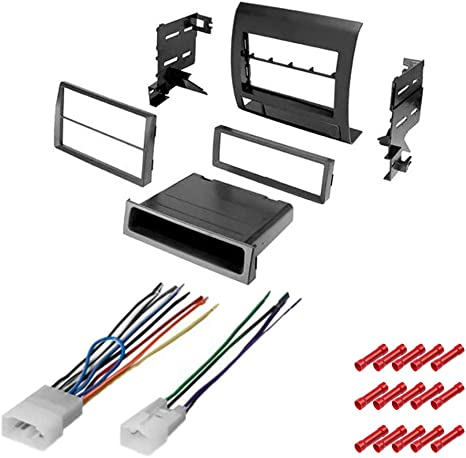 2011 toyota tacoma wiring harness amazon com cach   kit585 bundle with car stereo installation kit  bundle with car stereo installation kit