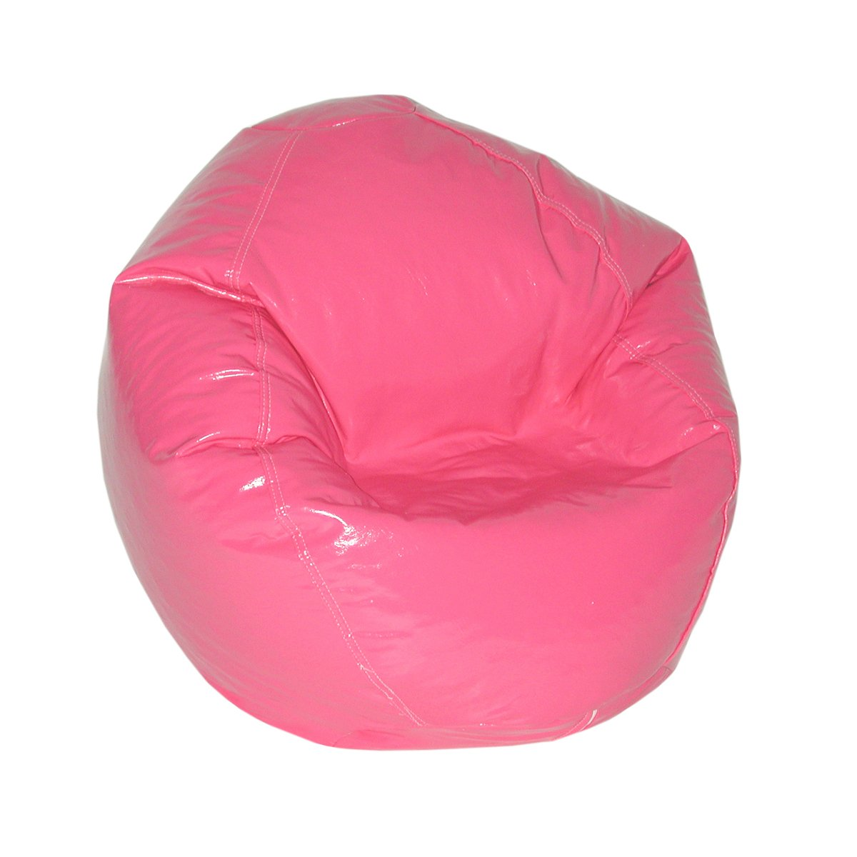 American Furniture Alliance Wetlook Bean Bag Jr Child, Magenta