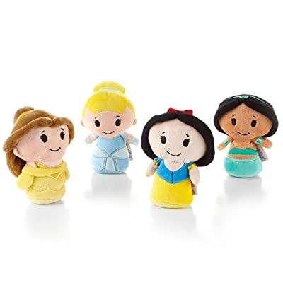 Hallmark Itty Bittys Disney Princess Collector Set - Belle, Cinderella, Snow White, Jasmine: Toys & Games