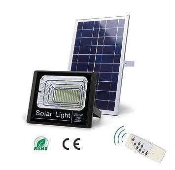 Z-TYND Proyector Solar LED, luz de jardín Solar a Prueba de ...