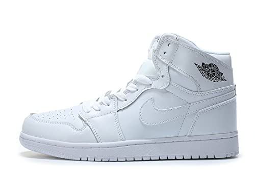 delicate colors casual shoes wholesale sales Air Jordan 1 Retro Mid PRM Triple White Chaussures de ...
