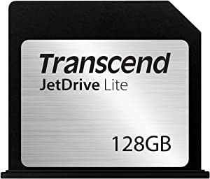 Transcend 128GB JetDrive Lite 130 Storage Expansion Card for 13-Inch MacBook Air (TS128GJDL130)