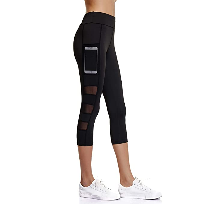 dependable performance genuine release date Joyshaper 3/4 Length Leggings for Women with Pockets Cropped ...