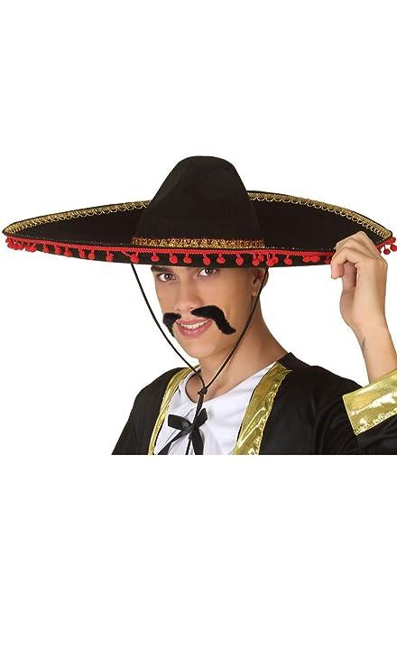 Atosa-37885 Sombrero Mexicano Color Rojo (37885  Amazon.es  Juguetes ... 83f5f2435d9