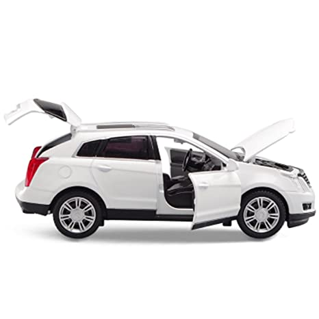 Amazon Com Kmt Alloy Diecast Car Models Cadillac Srx Suv Car Model