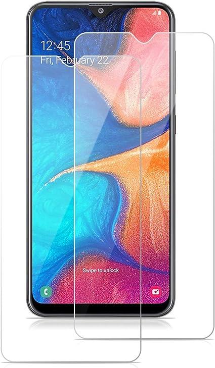 ROVLAK Protector Pantalla para Samsung Galaxy A20 Cristal Templado ...