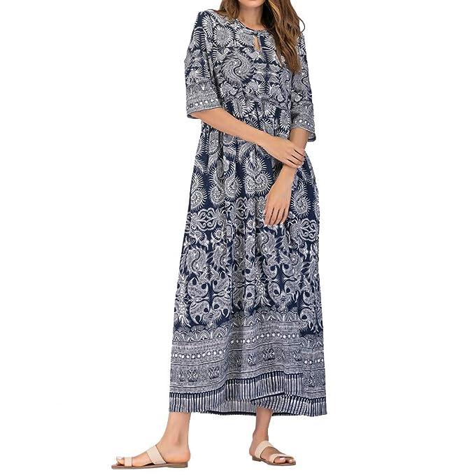 Vestito Lungo Donna Estivo CLOOM 8727c4aa7f5