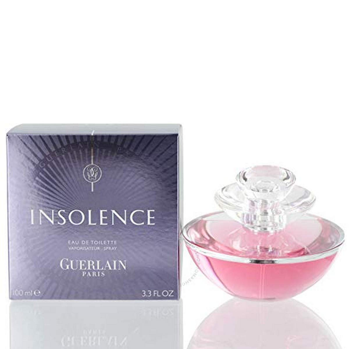 Insolence By Guerlain For Women. Eau De Toilette Spray 3.4 Oz. (Packaging and Bottle May Vary)