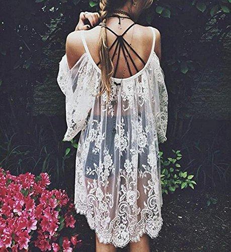 WINWINTOM - Vestido - kimono - para mujer
