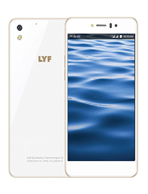 a6a0c110c LYF Water 8 4G Volte (3GB RAM, White): Amazon.in: Electronics