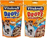 VitaKraft Drops Dog Treat 2 Flavor Combo Pack
