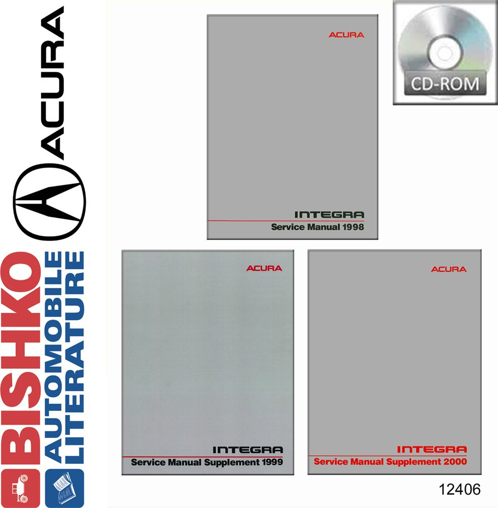 Amazon.com: bishko automotive literature 1998 1999 2000 Acura Integra Shop  Service Repair Manual CD Engine Drivetrain OEM: Automotive