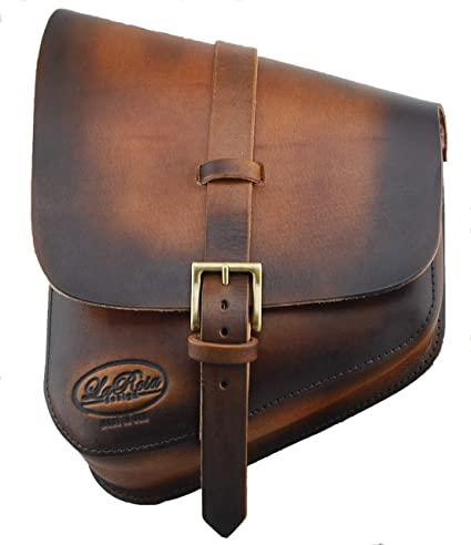 9328ab4dfa9e Image Unavailable. Image not available for. Color  La Rosa Harley-Davidson  All Softail Models Left Side Solo Saddle Bag ...