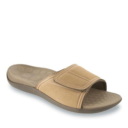 buy offer discounts the cheapest Orthaheel Men/Women Kiwi Slide In Orthopedic Sandals - Tan (Mens 6 ...