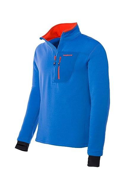 Trangoworld Trx2 Stretch Pro Pullover, Hombre, Azul Oscuro, 2XL